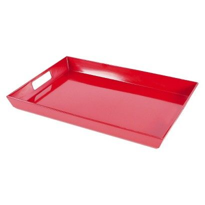 Room Essentials™ Melamine Serving Tray - Red