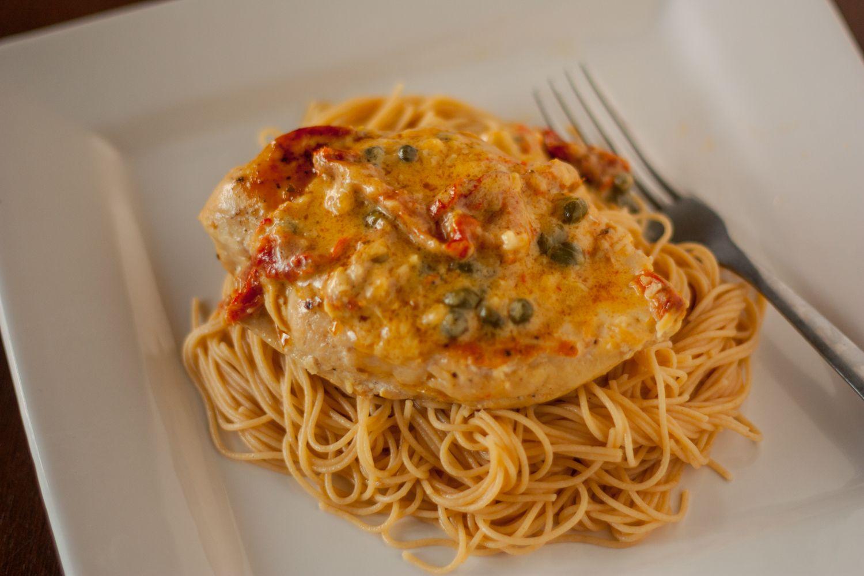 recipe: chicken vermouth cream sauce [15]