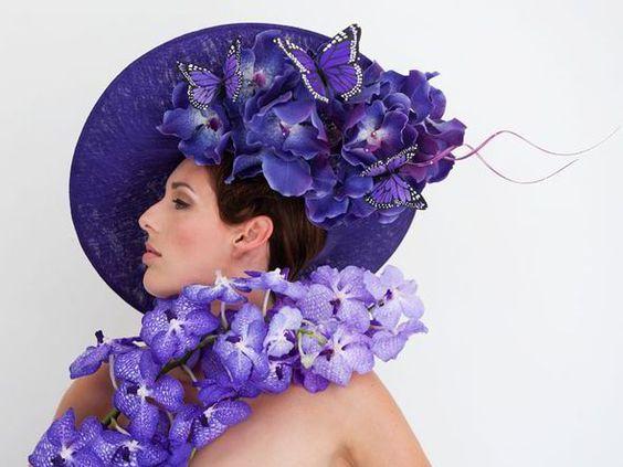Hat by Philip Treacy