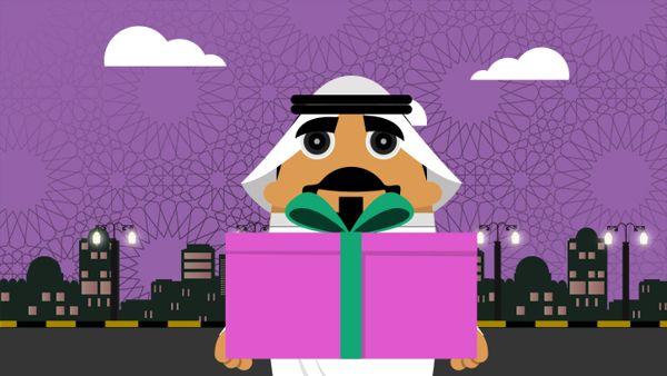 حلقات رمضانية خاصة بشركة زين تهدف الى توعية الناس في بعض المواقف اللتي تحدث في رمضان بطريقة بسيطة كوميدية Illustra Creative Work Creative Creative Design