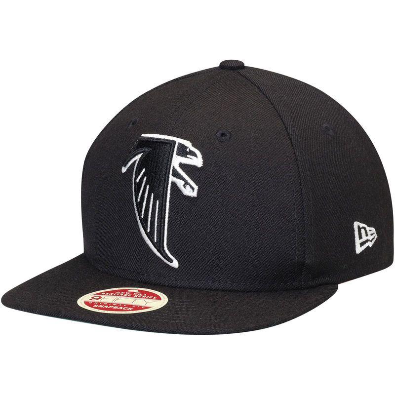 Atlanta Falcons #2 Matt Ryan Snapback Cap NFL Player Black with White Number Stitched Hat