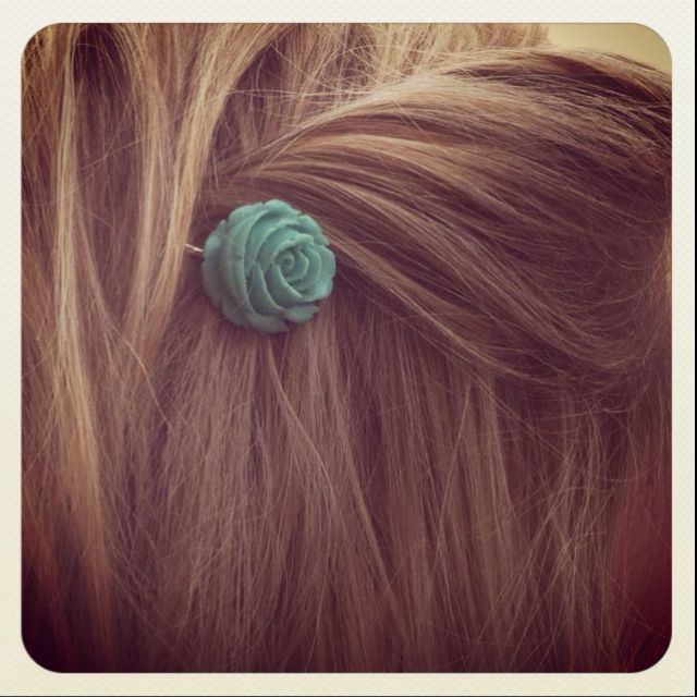 Adorable hair pins by Pink Herron at Gloss Salon in Ridgeland, MS ...