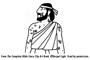 Coloring Pages Ten Lepers 209 Healing Of Naaman Lesson