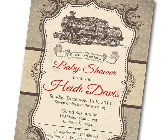 d902f307e9e266c4cf7c1e364860770b all aboard train ticket baby shower by partiesbythebundle on etsy,How To Invite People To A Baby Shower