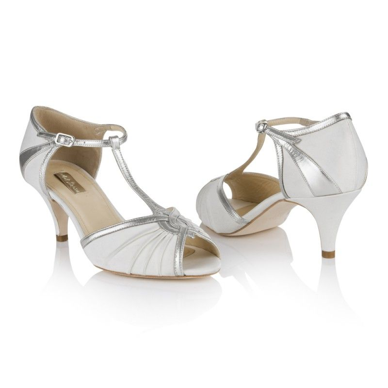 Victoria Ivory Wedding Shoes Online Peep Toe Wedding Shoes