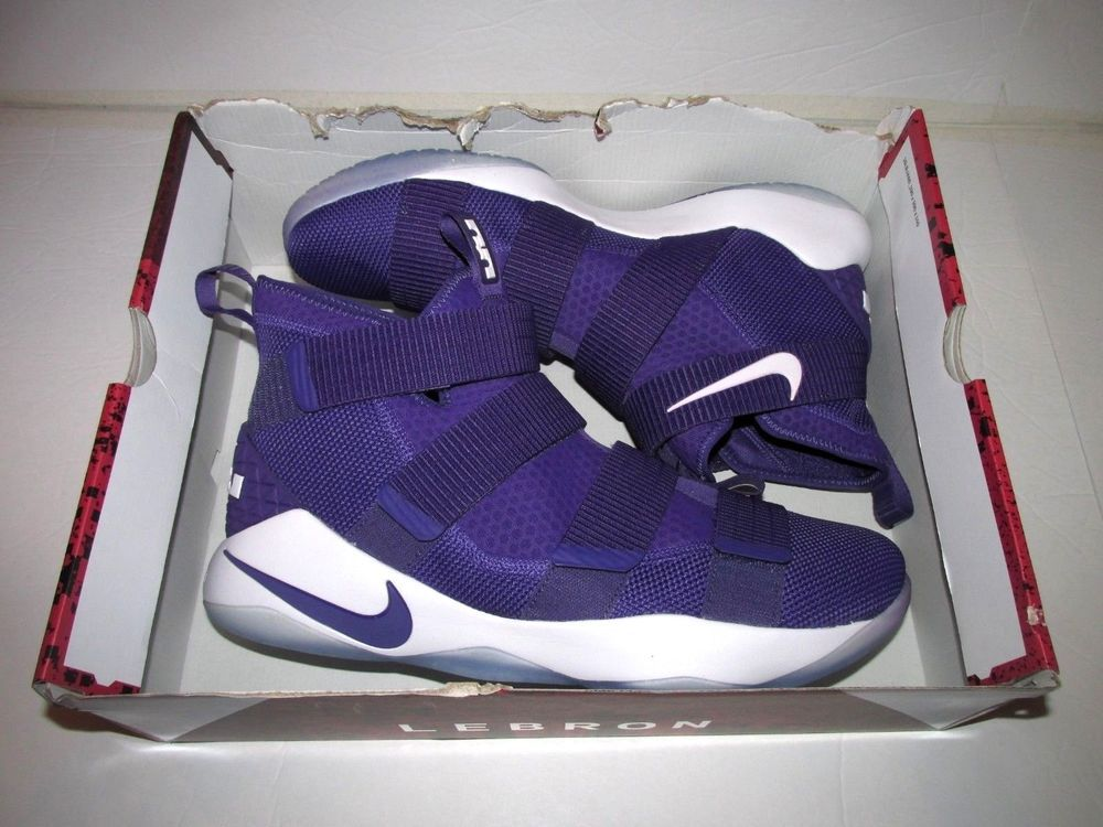 size 40 3b60a 71641 Nike Lebron Soldier XI TB Mens Basketball Shoes 15 Court ...