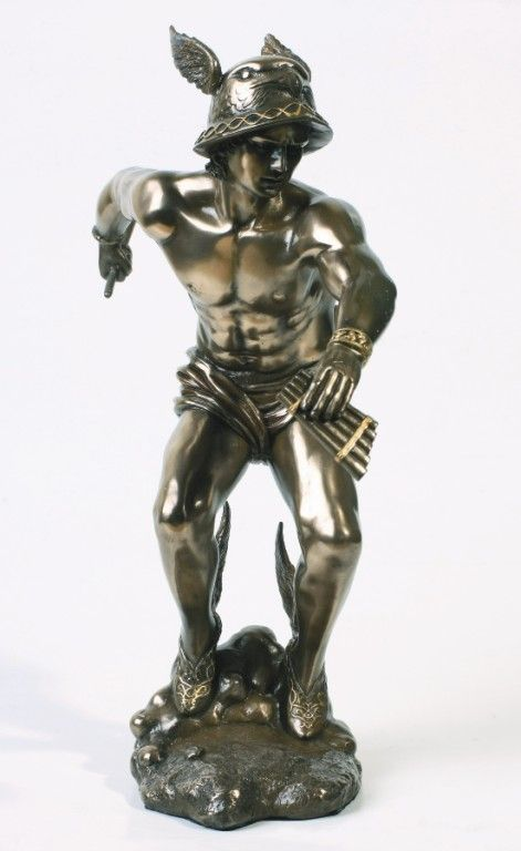 Hermes Mercury Statue The Messenger Of God Figure Greek