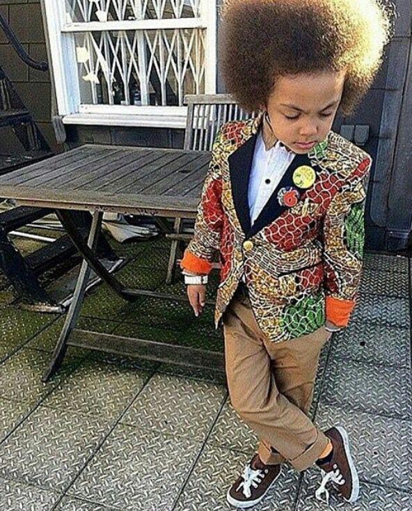 Ankara suit designs for male Kids
