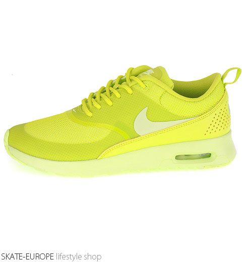 nike air max thea yellow