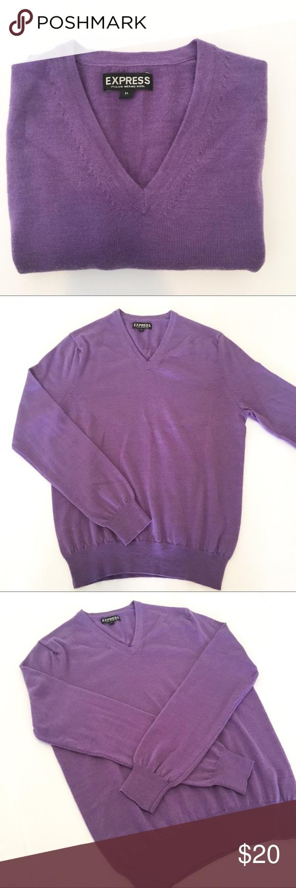 Men's Merino Wool purple sweater Sz M | Merino wool, Smoking and ...