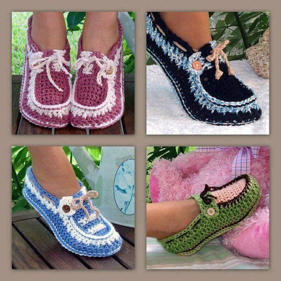 Todo para Crear ... : zapatos en crochet | Crochet | Pinterest ...