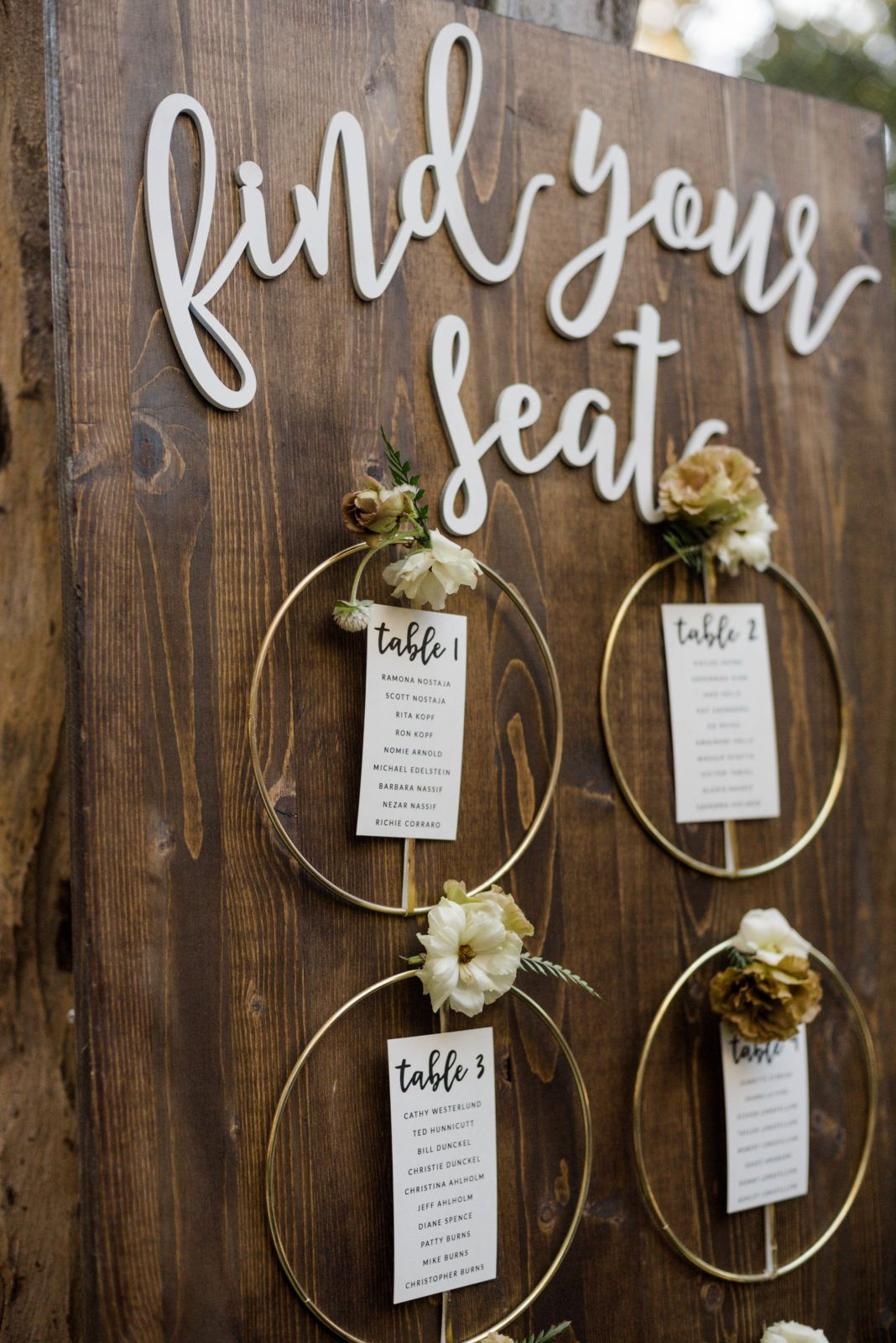 A Chic Rustic Wedding at Calamigos Ranch - Feathered Arrow