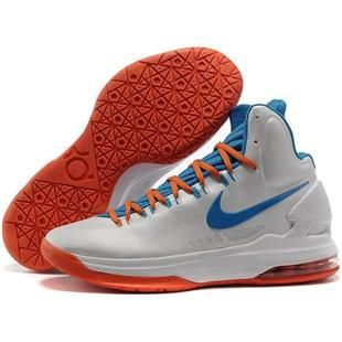 Cheap Kevin Durant Shoes White Blue Orange Red cheap Nike KD 5 Shoes If you want to look Cheap Kevin Durant Shoes White Blue Orange Red you can view the