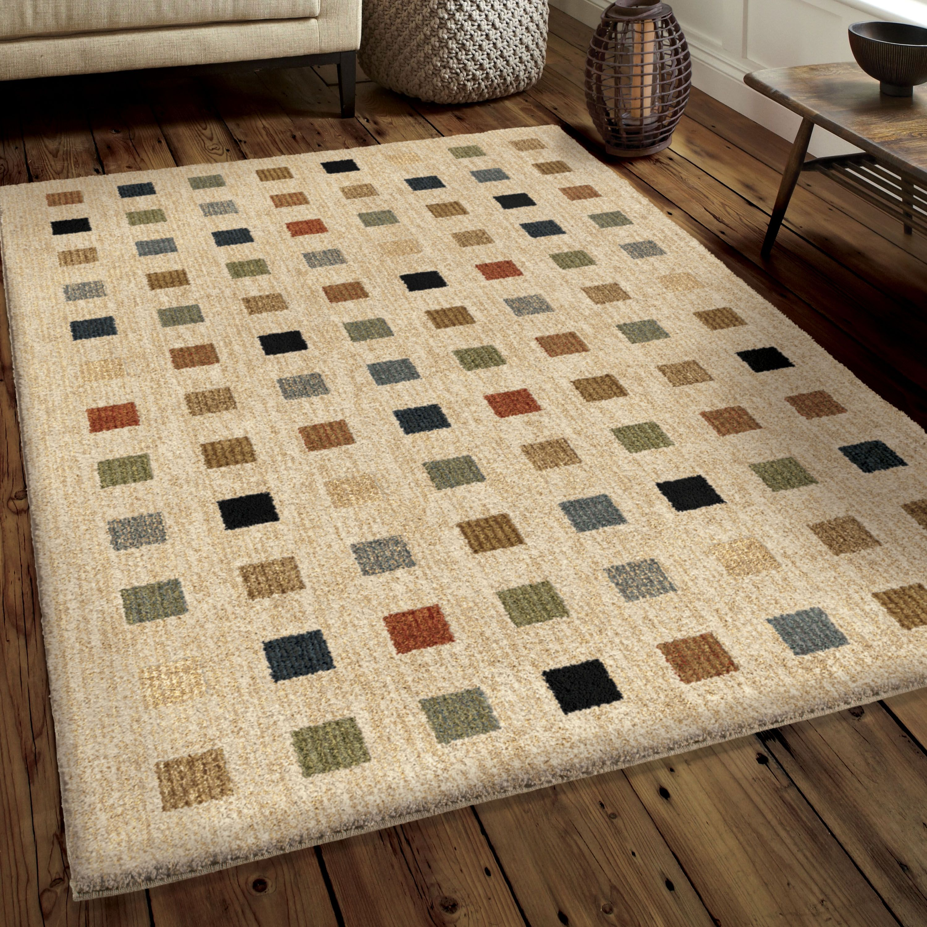 Next Generation Collection Uptown Off White Rug Décor Carpet