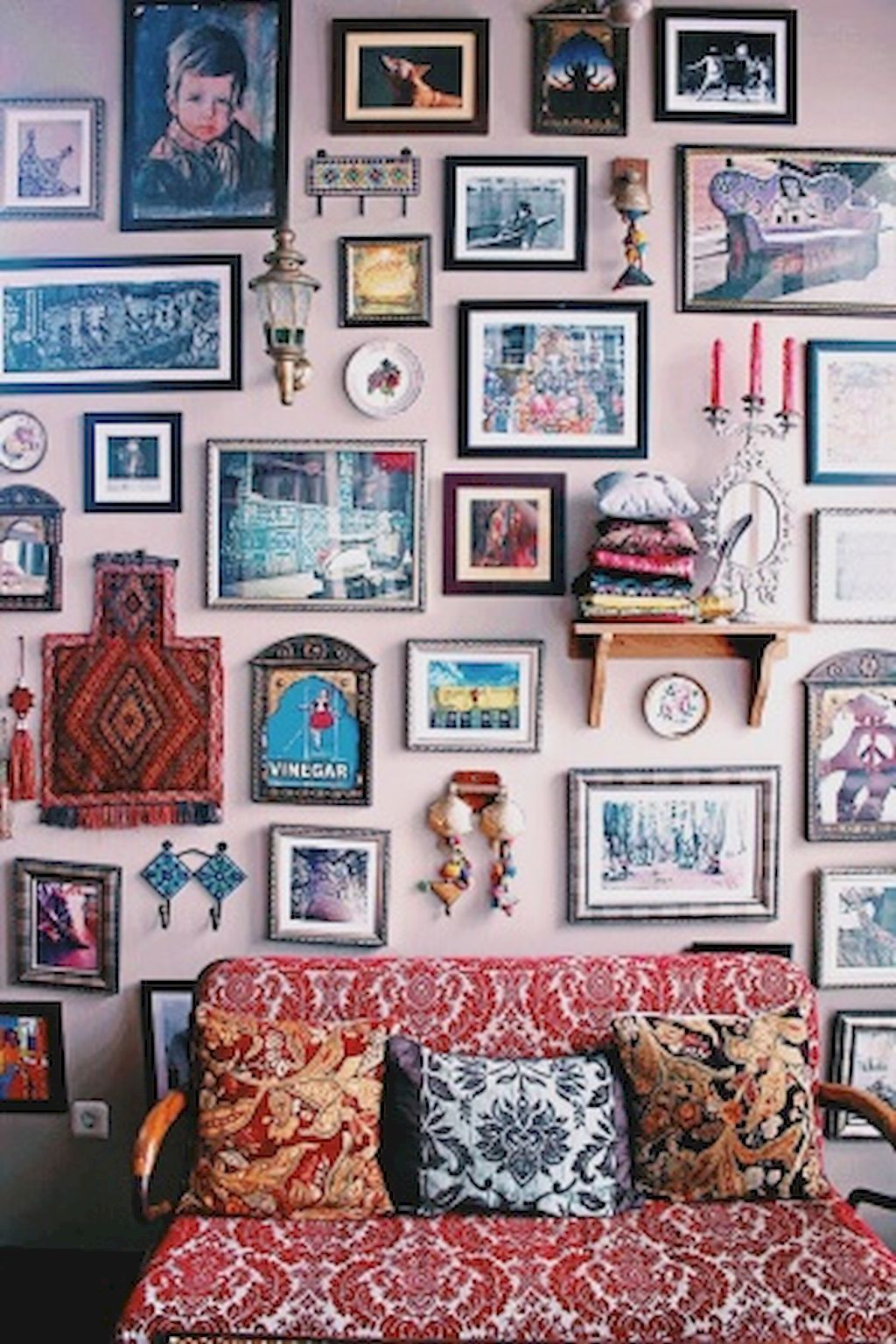 50 Diy First Apartment Ideas On A Budget With Boho Wall Decor Eclectic Home Boho Wall Decor Eclectic Decor