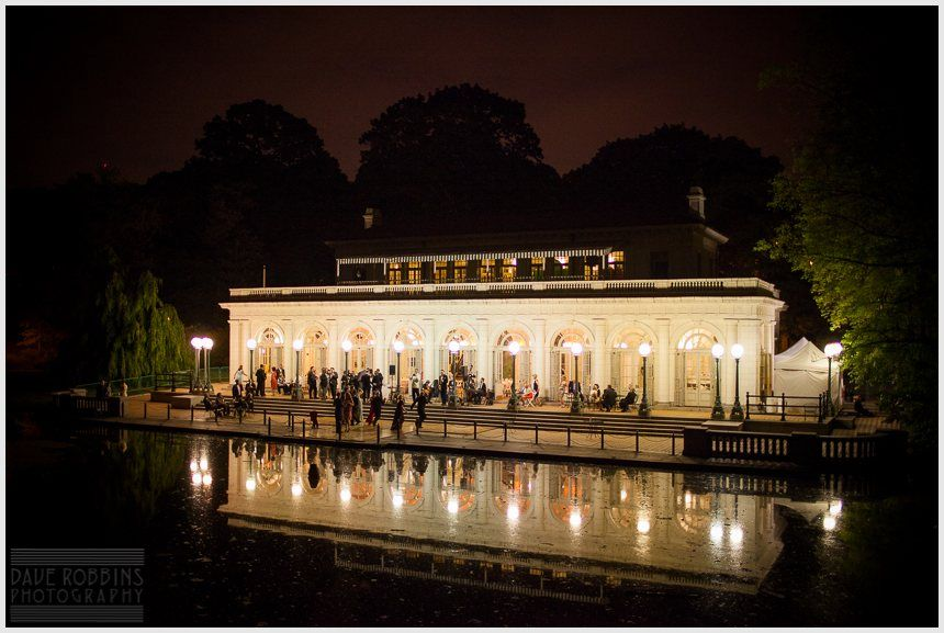 A 1920s era wedding at the charming Boathouse in Prospect Park