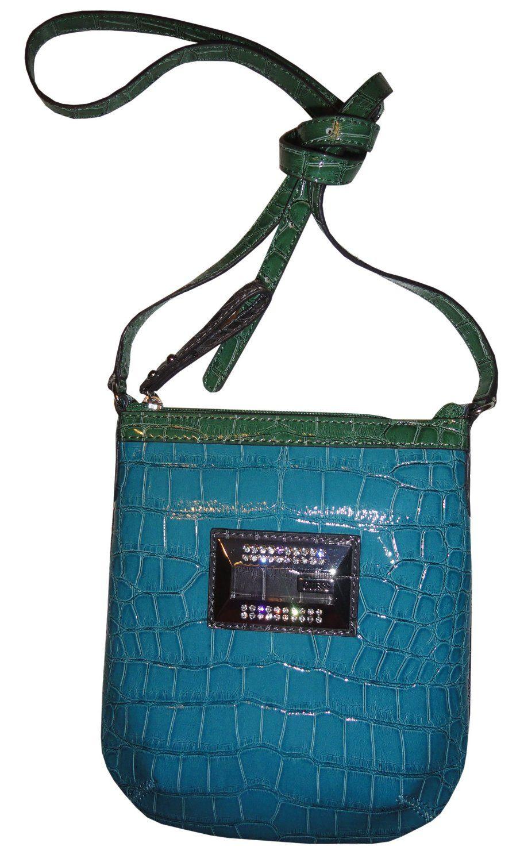 Women S Guess Purse Handbag Crossbody Wynonna Mini Blue Multi