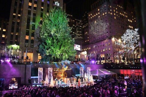 NYC Christmas Tree Lightning   Nyc christmas, Prince royce ...