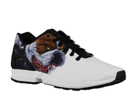 Adidas Originals ZX Flux Men's White Black S74788 Running