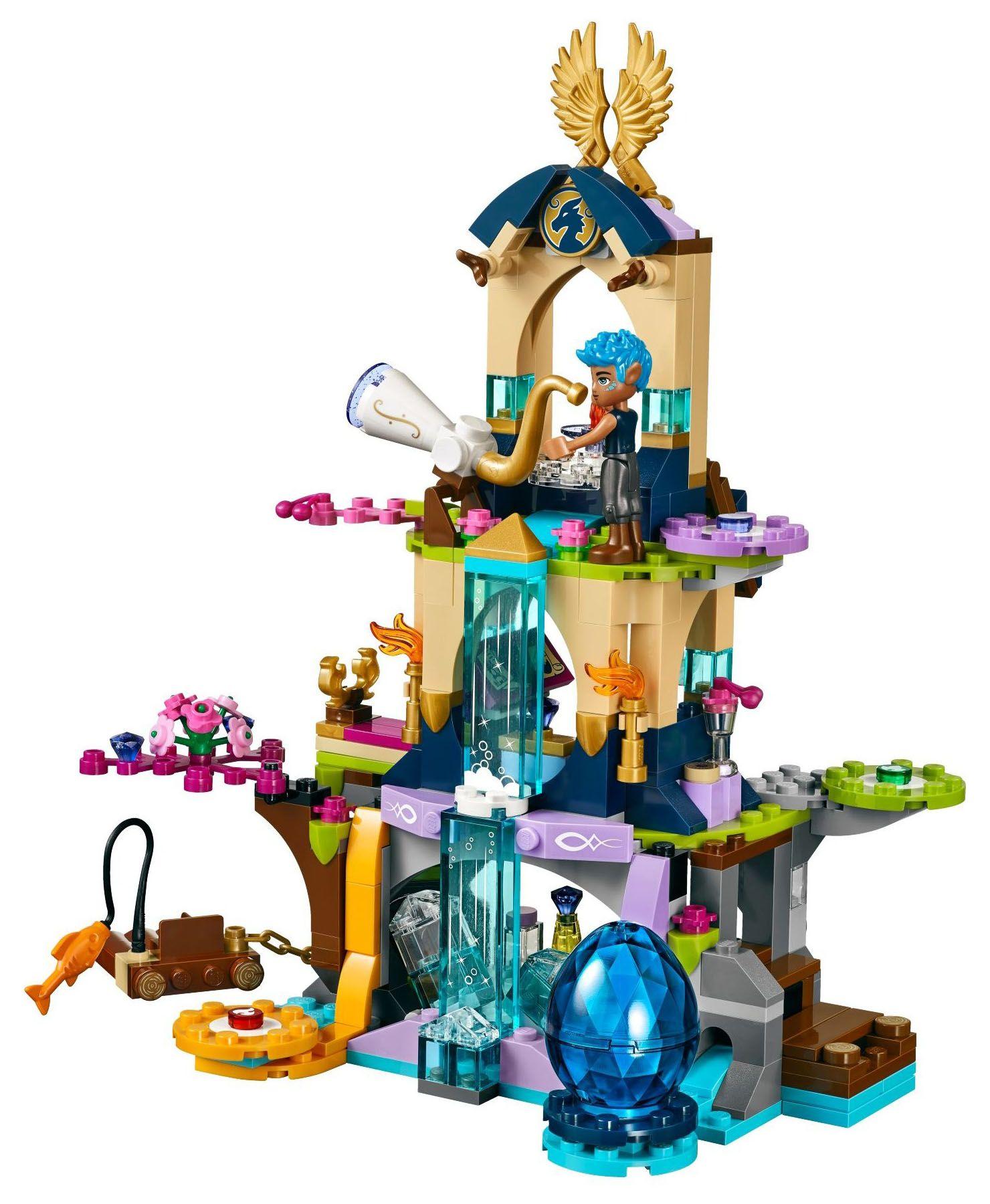Girl Friends Dragon Sanctuary Building Bricks For Elves Toys DIY Educational