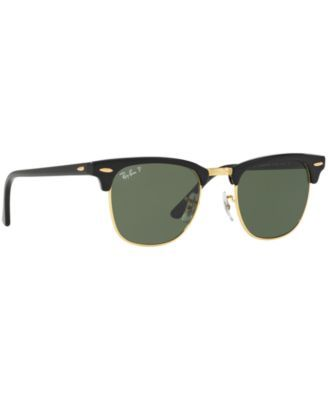 3b8c193b071 Ray-Ban Polarized Clubmaster Sunglasses