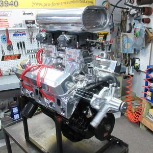 408 Stroker 520HP Dual Quad Tunnel Ram Crate Engine | bad to