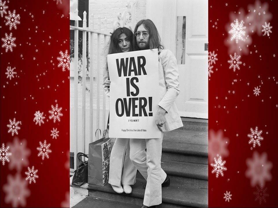 John Lennon Happy Xmas War Is Over Lyrics Happy Xmas John Lennon Lennon