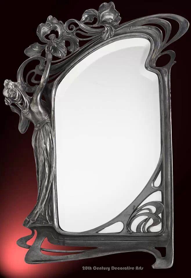 Art Nouveau Mirror Art Nouveau Furniture Art Nouveau