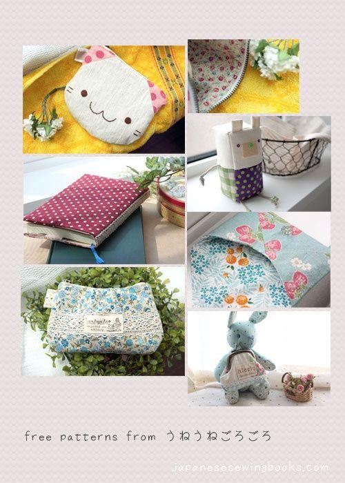 Free Japanese Sewing Patterns | Free Japanese Sewing Pattern ...