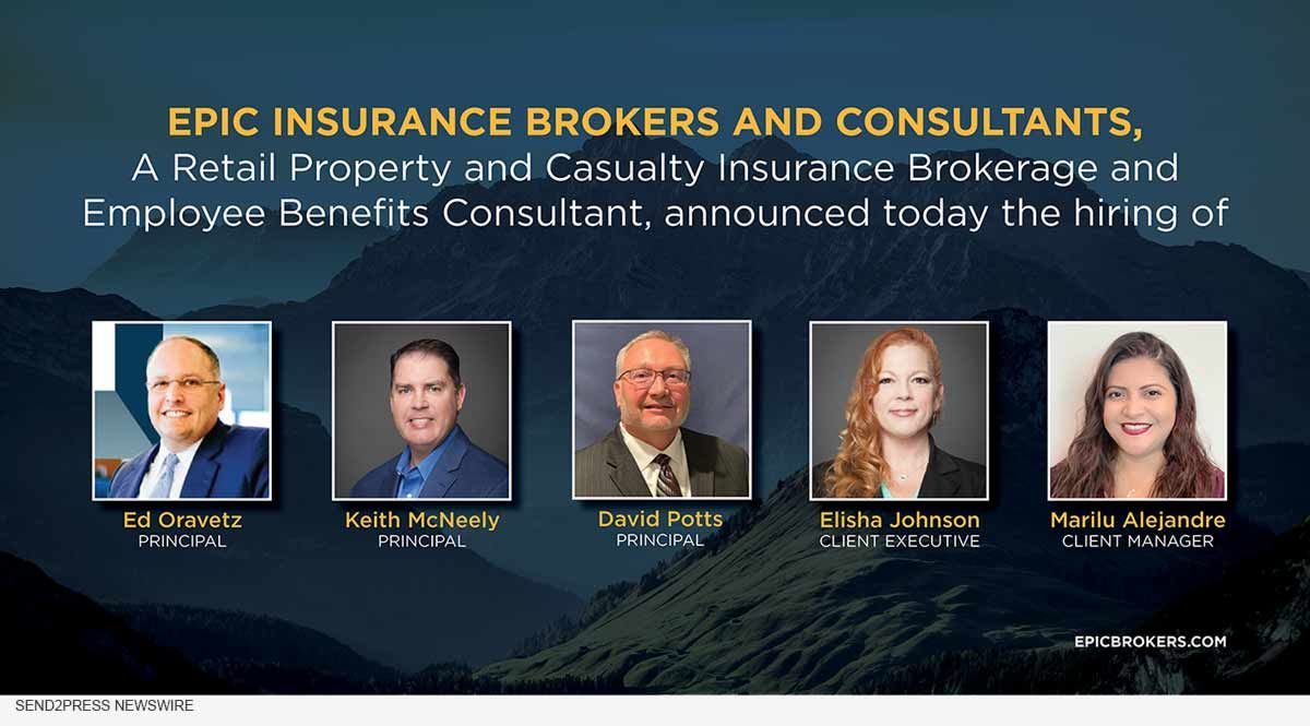 Epic Adds New Benefits Consulting Team In Houston Tx Property