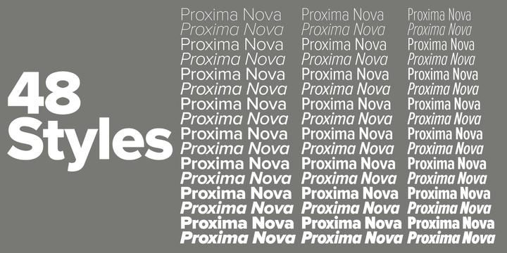 Proxima Nova Webfont Desktop Font Clean Fonts Myfonts Fonts