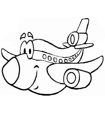 Airplane Coloring Pages Will Be The Favorite Transportation In Air By Children Get More Benefits And Understanding