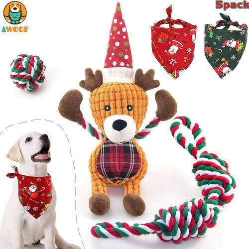 Info's : Christmas Dog Gift Set