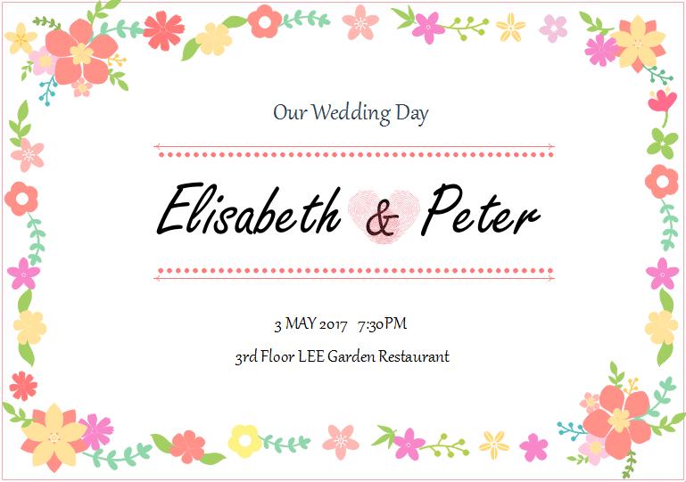mod u00e8le de carte d u0026 39 invitation de mariage gratuit personnalisables et imprimables