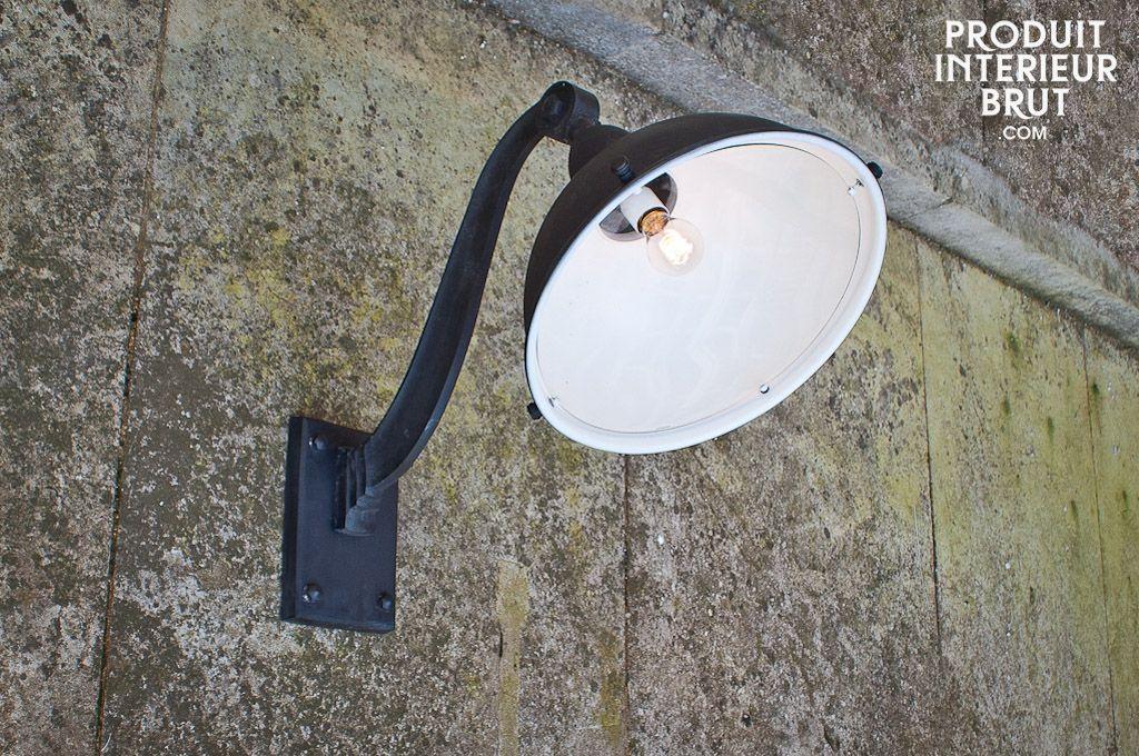 Lampe de fa ade d 39 entrep t appliques industriel et fa ades for Lampe exterieur facade