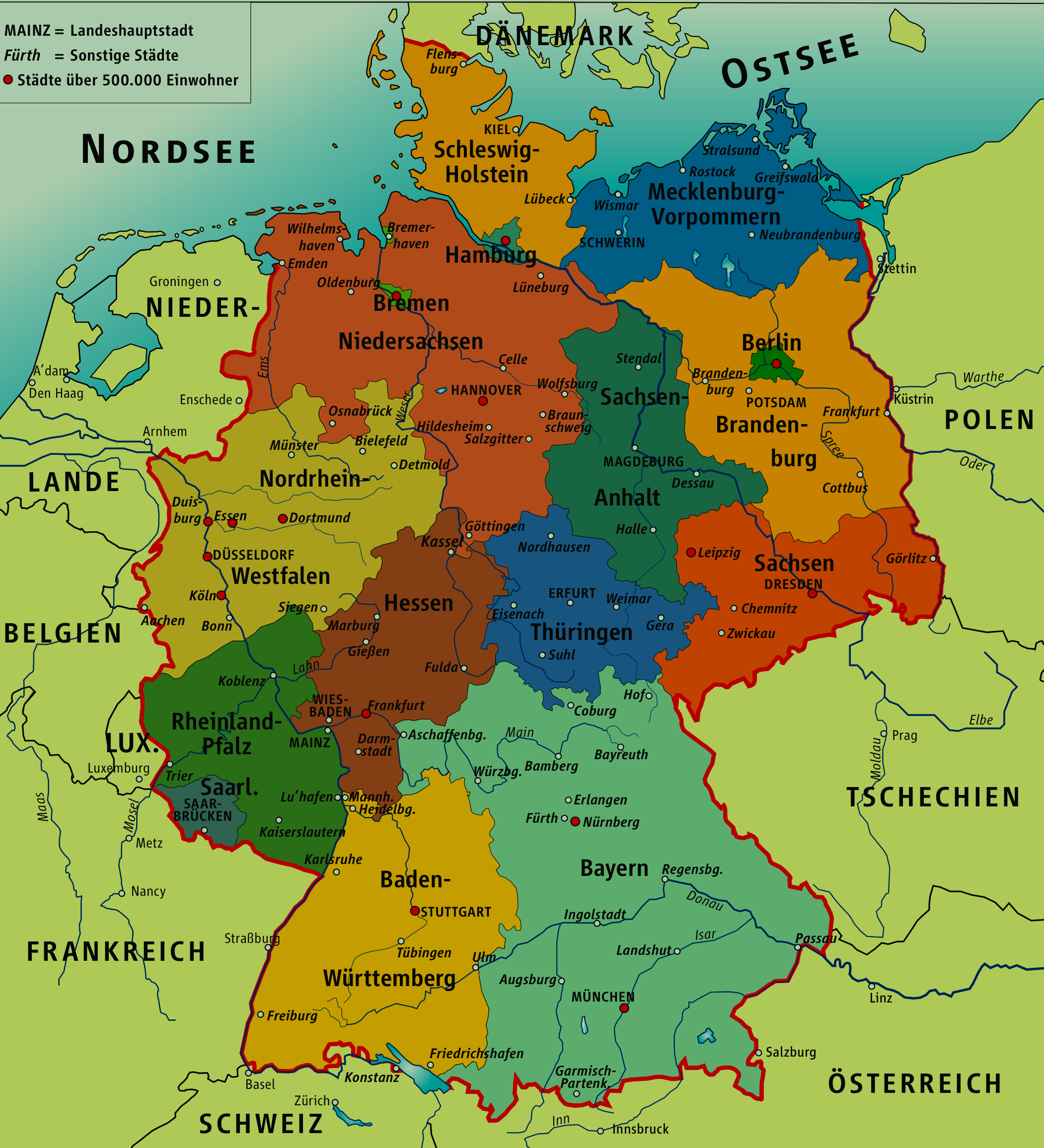 good pdf type map of germanypng 21022312 pixels