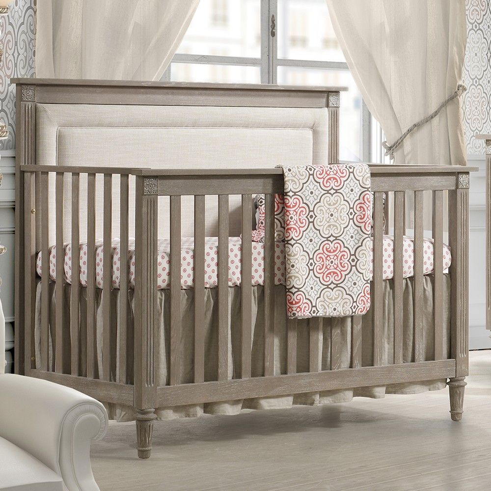 NEST Provence Collection 4 in 1 Convertible Crib in Sugar