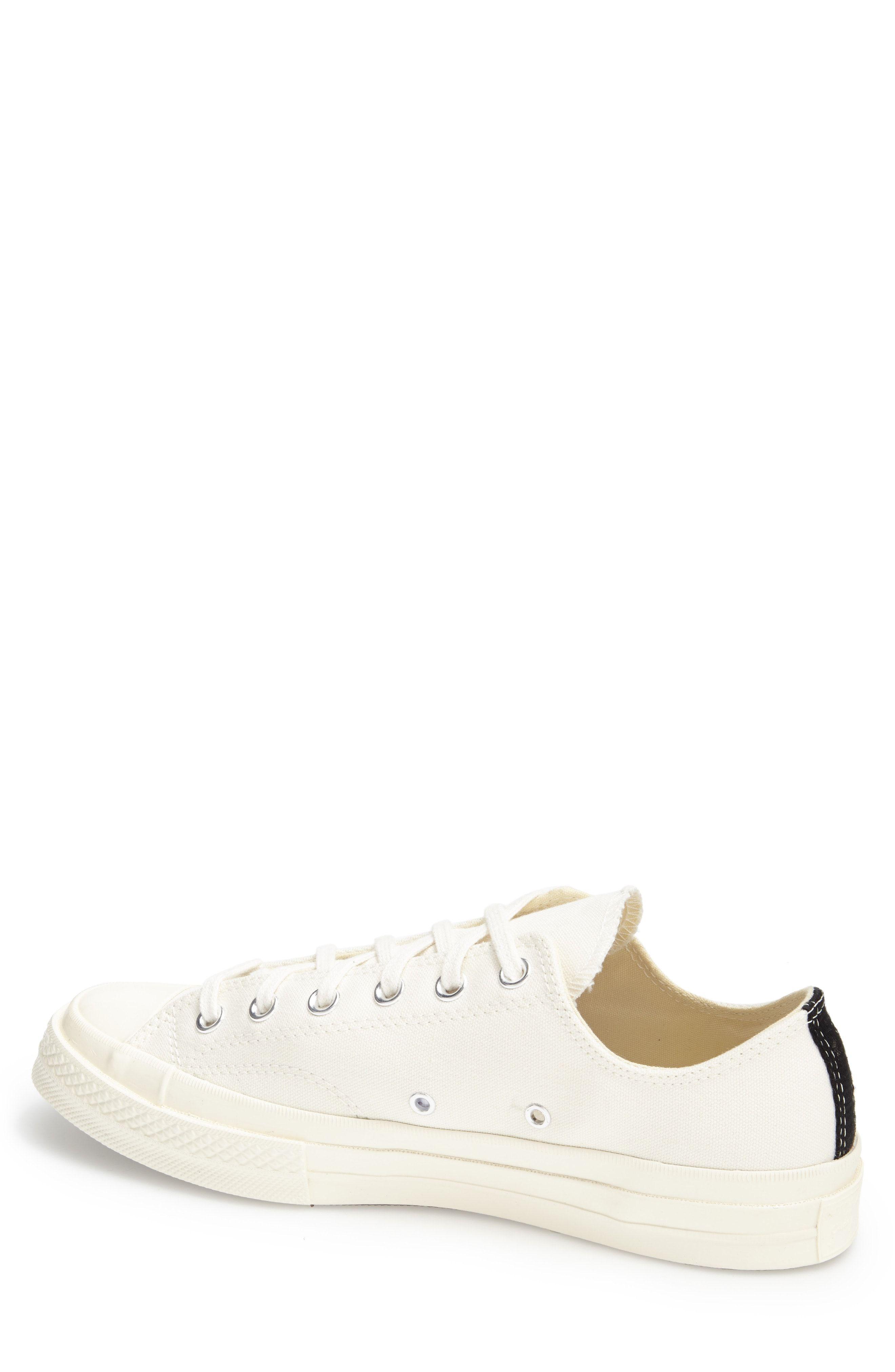 52097accd79f Comme des Garçons PLAY x Converse Chuck Taylor® Hidden Heart Low Top Sneaker  (Women)