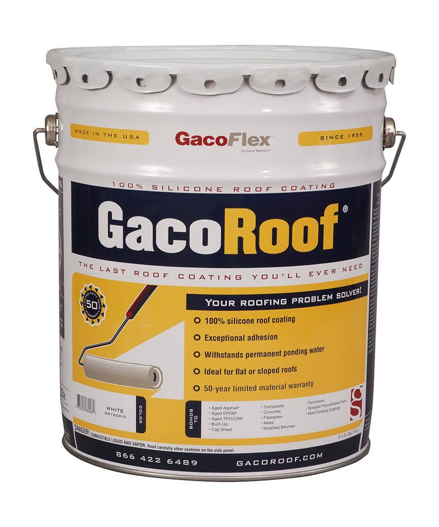 Best Gacoroof Roof Coating Rubber Roof Coating Roof Problems 400 x 300