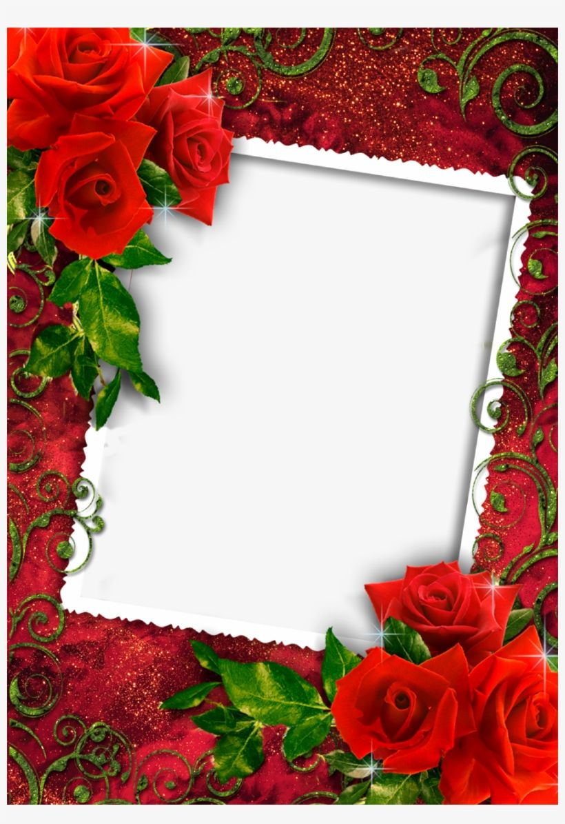 Download Download Png Images Love Rose Photo Frame for