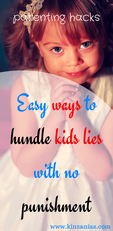 Lying punishment child for Pathological Lying