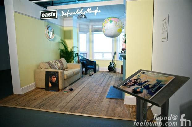 Oasis Chasing The Sun Exhibition Noel Gallagher Daughter Anais Gallagher Definitely Maybe Set Oasis Definitely Maybe Home Decor