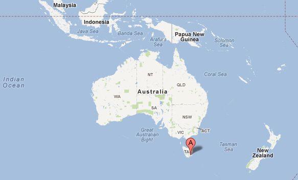Australia Map Hobart.Luscious Takes A Trip Visiting Hobart Australia In Style
