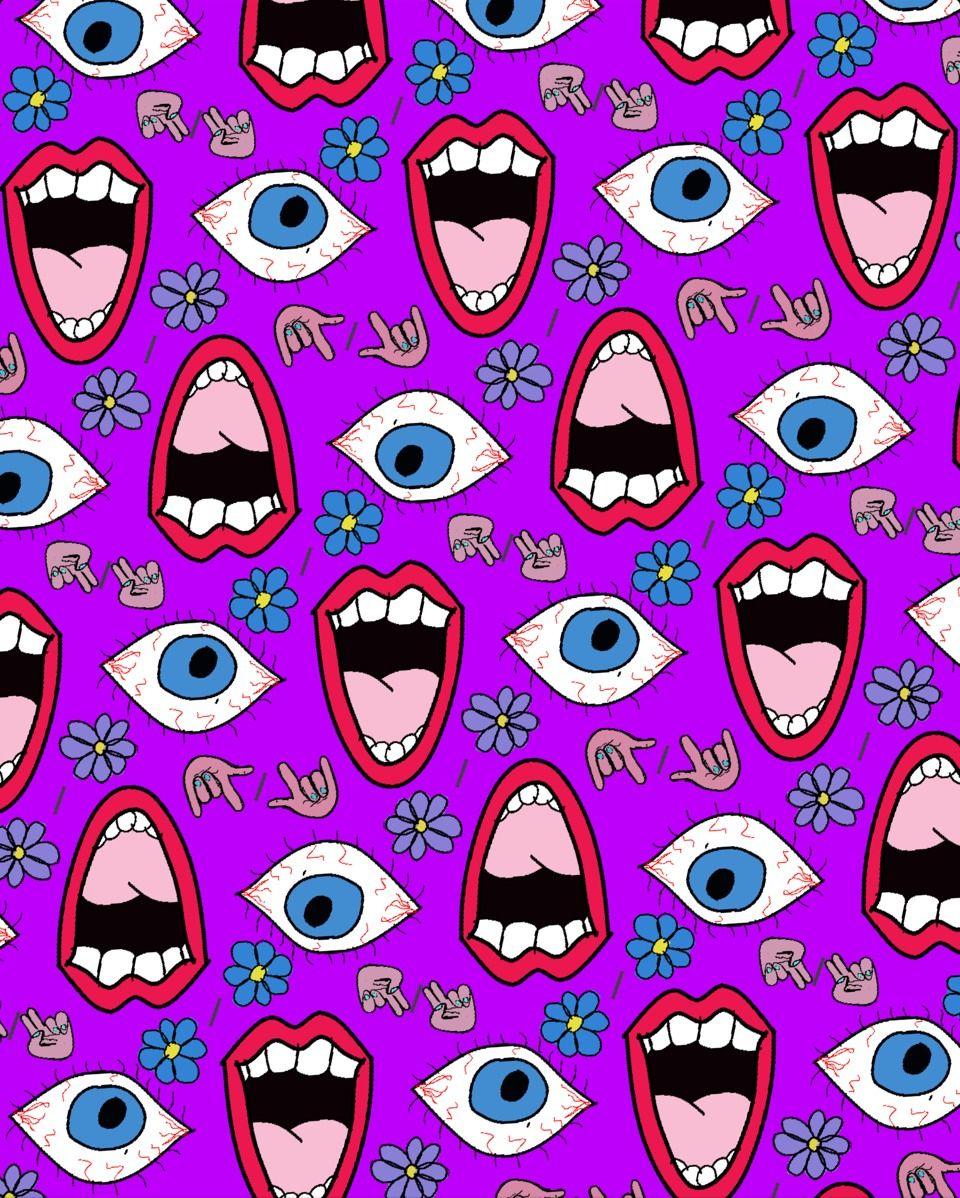 Tribal iphone wallpaper tumblr - 90s Patterns Tumblr By Cleo Grohlski Tumblr Com