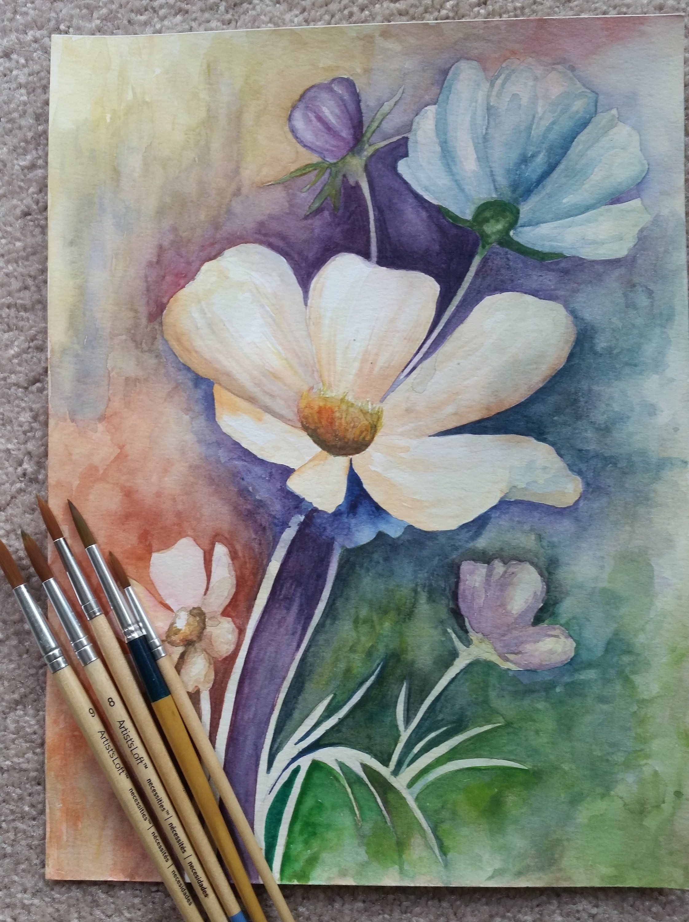 Excited To Share The Latest Addition My Etsy Shop Watercolor Flowers