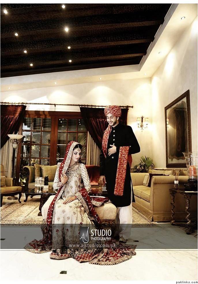 Shy Glances Aj Studio Photography Karachi Indian Wedding