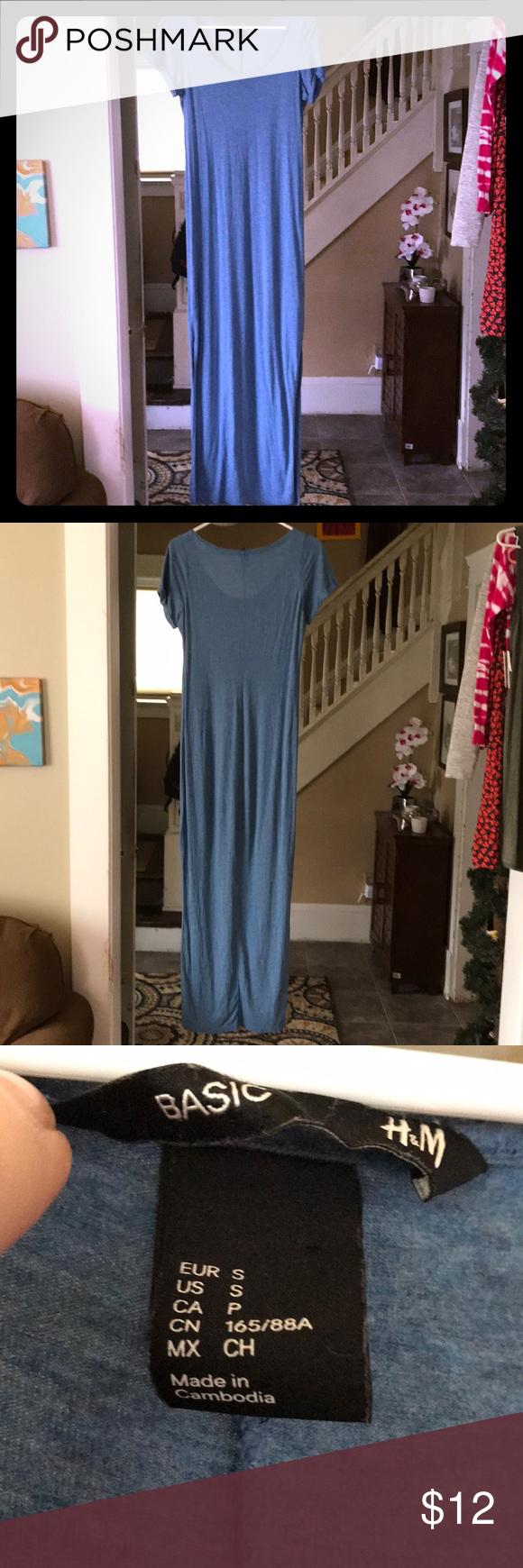 5 For 25 Basic H M T Shirt Dress T Shirt Dress Dresses Shirt Dress [ 1740 x 580 Pixel ]