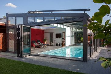 pool im wintergarten modern pools other metro l chte gmbh dream life ideas 16. Black Bedroom Furniture Sets. Home Design Ideas