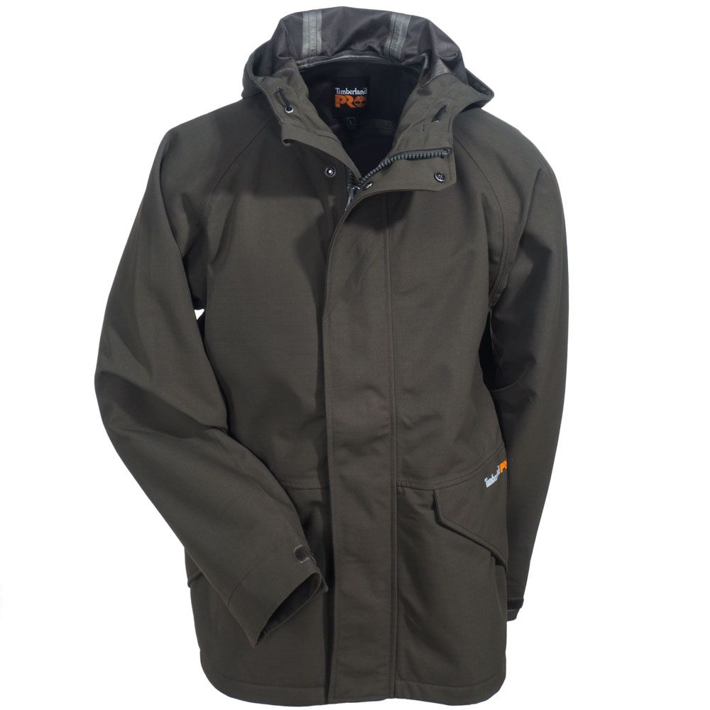 0cb9efbb704d Timberland PRO Workwear Men s TB0A11CA A58 Grape Leaf Dry Squall Waterproof  Jacket