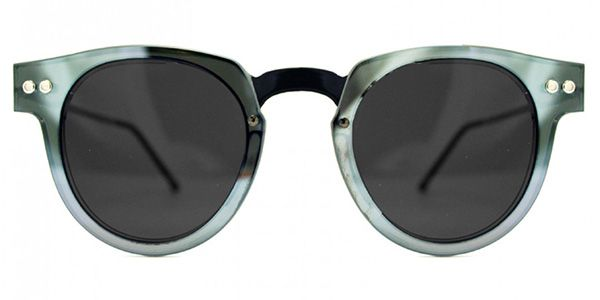Spitfire Sharper Edge Select Double Lens Black/Silver Mirror/Black Sunglasses